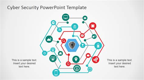 using a powerpoint template cyber security powerpoint template slidemodel