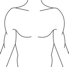 tattoo chest template template for sleeve tattoo designing useful body