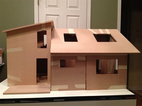 modern dollhouse jocelyn s mountfield dollhouse one modern dollhouse made from contemporary ranch and minitown