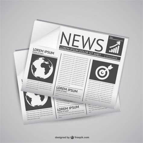 newspaper layout vector newspaper vectors photos and psd files free download