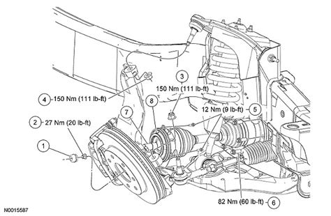ford f150 front suspension diagram 2003 ford f 150 front end suspension diagram html autos post