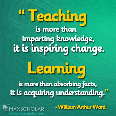 Education Quotes Quotes For Teachers - keep inspiring change and promoting understanding quote