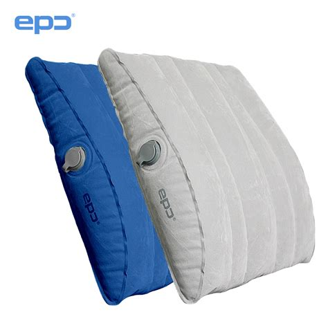Bantal Travel Inflateable Back Support popular lumbar support pillow buy cheap lumbar support pillow lots from