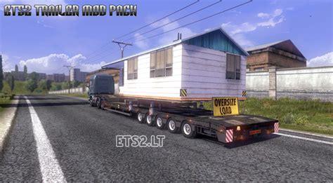 the trailer trailer mod pack v 3 0 ets 2 mods