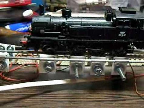 homemade test bench diy test bench for ho locomotives youtube