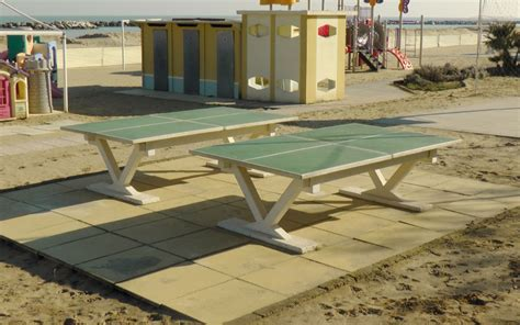 tavolo ping pong cemento santarini lucio tavoli da ping pong
