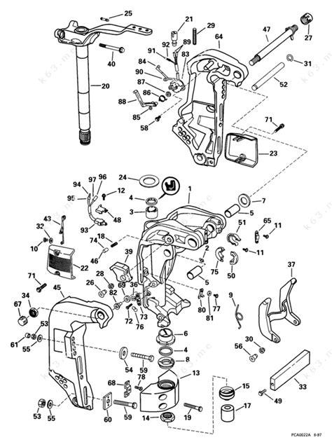 diagram 1999 mercury 150 outboard imageresizertool