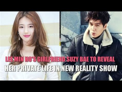 who is the real girlfriend of lee min ho lee min ho answers lee min ho s girlfriend suzy bae to reveal her private