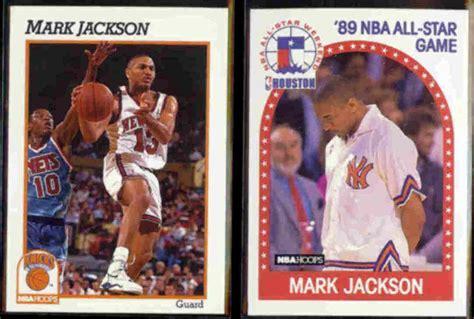 mark jackson hoops mark jackson 1991 hoops 141 1989 hoops 146 knicks