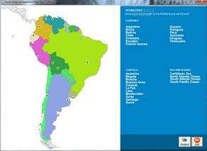 south america map quiz image search results
