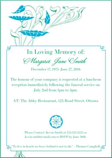 Invitation Letter For Condolence Meeting Invitation Letter For Condolence Meeting Docoments Ojazlink