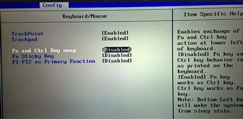 how to change lenovo x1 carbon keyboard fn and ctrl hardstaff