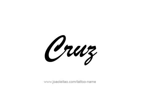tattoo cruz tattoo collections
