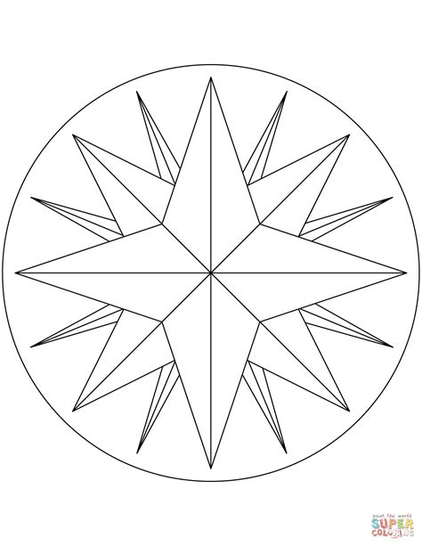 coloring page compass rose compass rose worksheet compass rose worksheet quot quot sc quot 1 quot st