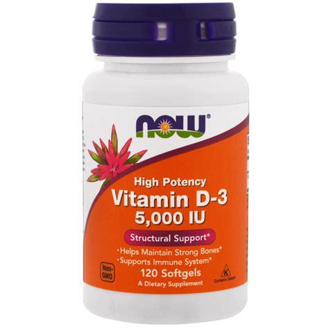 Best Now Foods Vitamin D 3 High Potency 5000 Iu 120 Softgel Now Foods Vitamin D 3 High Potency 5 000 Iu 120
