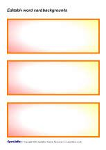 free editable flash card template editable word card backgrounds sb1179 sparklebox