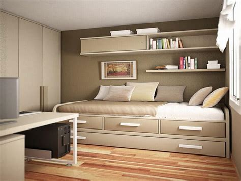 inspiring clever storage solutions for small bedroom