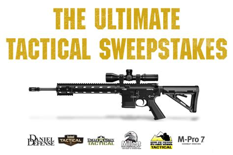 Strike It Rich Sweepstakes Official Rules - uncle mike s tactical sweepstakes recoil