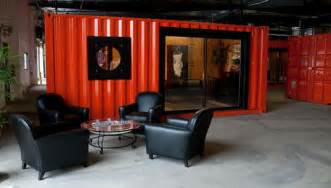 Rent Container Storage - shipping containers transform warehouse into office space inhabitat green design innovation