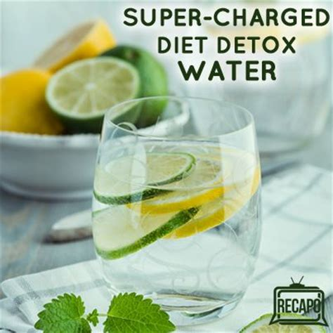 The Best Detox Water Diet by Dr Oz Charged Hormone Diet Detox Water Recipe