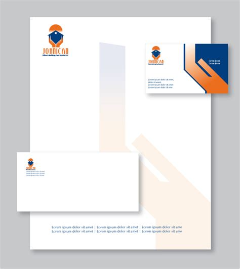 Business Letterhead Stationery Business Letterhead Design Custom Letterhead Stationery