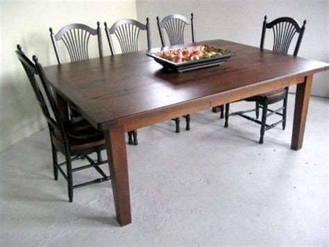 wide oak dining table farmhouse dining tables