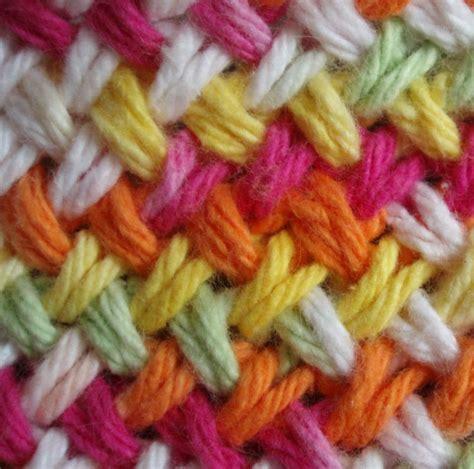 woven basket stitch knitting craft connection woven knit stitch
