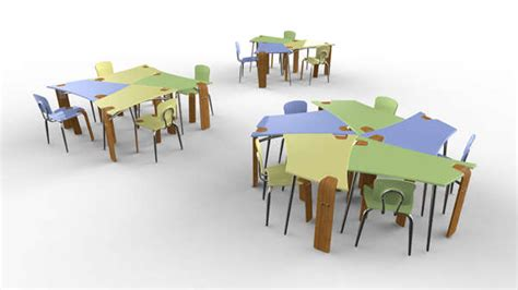 modular school furniture synthesis collaborative desk