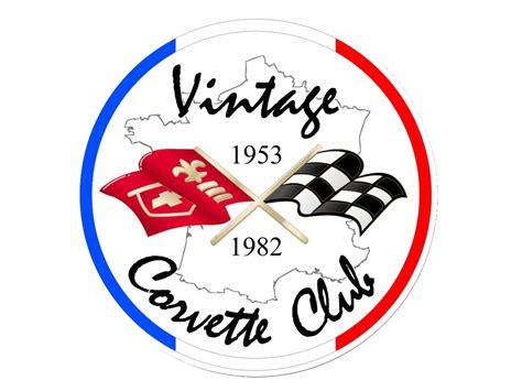 vintage corvette logo adhesion au vintage corvette club