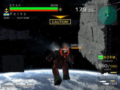 emuparadise pcsx2 mobile suit gundam federation vs zeon usa iso