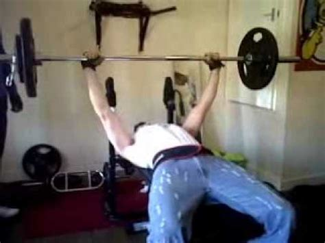 standard bench press bar standard bench press demo youtube