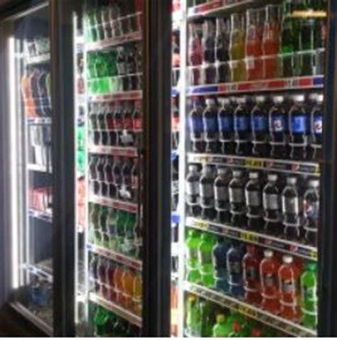 design lights consortium led refrigerated case lights offer uniform look to package