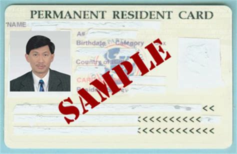 resident green card template permanent residency green cards immigration lawyers