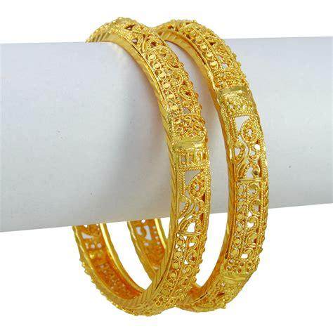 Indian Goldplated Ethnic Kada Bangles Traditional Bracelet Women Wedding Jewelry   eBay