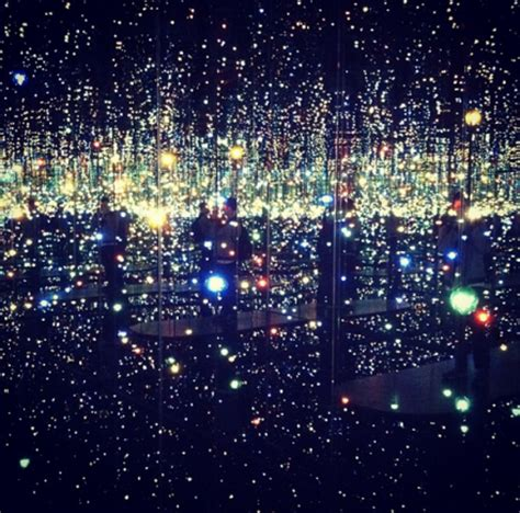 yayoi kusama infinity mirrored room 187 new york yayoi kusama i who arrived in heaven