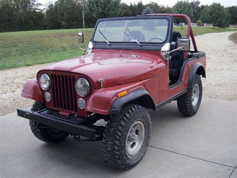 1980 Jeep Cj5 For Sale Find Used 1980 Jeep Cj5 Base Sport Utility 2 Door 2 5l In