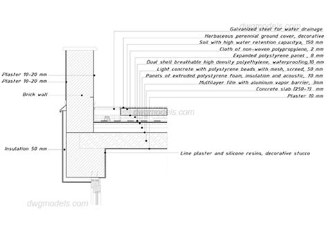green roof section dwg green roof section dwg 28 images green roof 1 dwg free