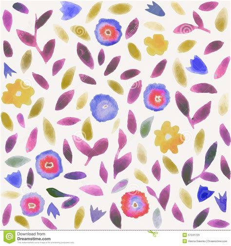flower pattern modern abstract watercolor flower pattern modern pattern with
