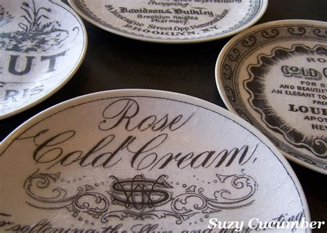 How To Decoupage Plates - suzy cucumber tissue paper plates