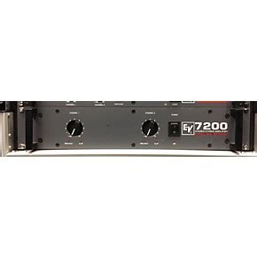 Power Lifier Electro Voice used electro voice 7200 power lifier power guitar center