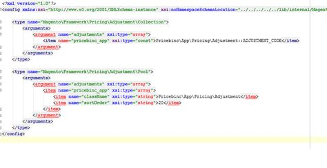 magento layout xml array magento2 argument in di xml cannot resolve array to a
