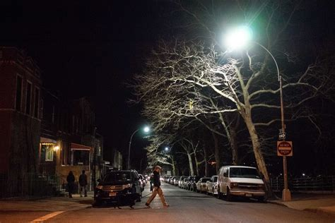 Led Streetlights In Brooklyn Are Saving Energy But Where To See Lights In Nyc