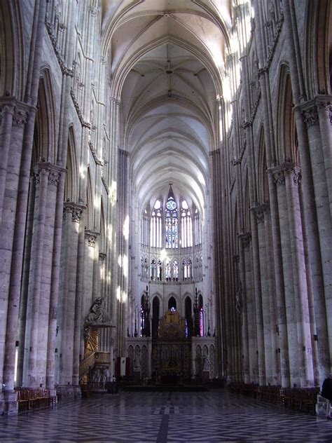 Cathedral Interior by 1610 Amiens Cathedral Interior Jpg
