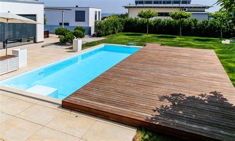 pool mit überdachung pool mit schiebedach pool magazin