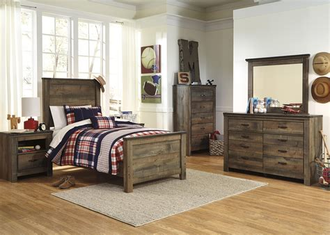 Signature Design By Ashley Trinell Twin Bedroom Group Furniture Signature Design Bedroom Set