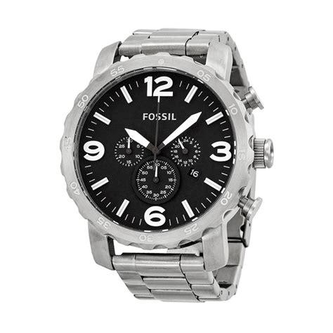 Jam Tangan Fossil Stainless jual fossil nate chronograph jr1353 jam tangan pria