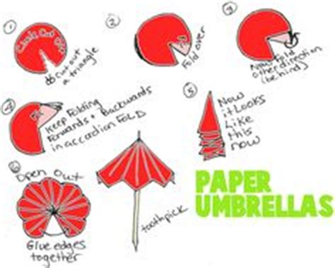 How To Make Paper Umbrella For Drinks - 1000 images about embellish with scrapbook papers on