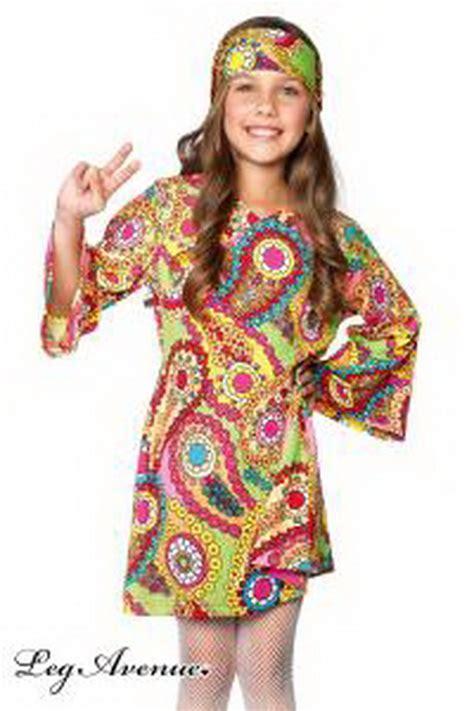 vestito di carnevale figli dei fiori fai da te vestiti hippie donna