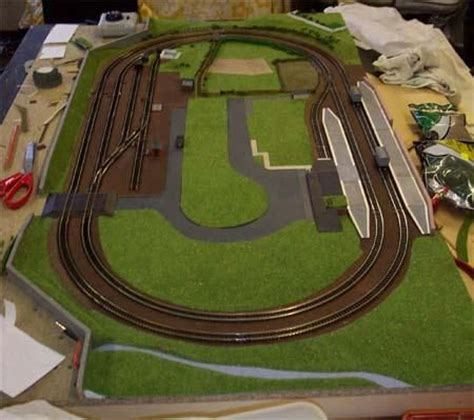 small  track plans model railway track plans model