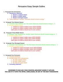persuasive essay template 7 sle persuasive essay templates essential steps for